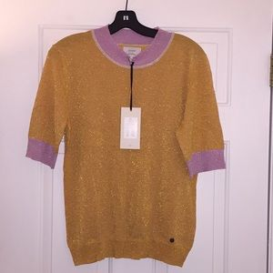 Anthropologie NUMPH Women's Shine Sweater